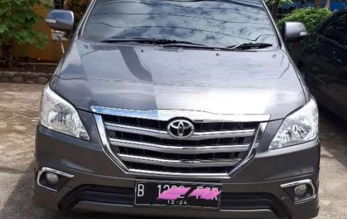 Jual mobil bekas murah Toyota Kijang Innova V Luxury 2014 di DKI Jakarta