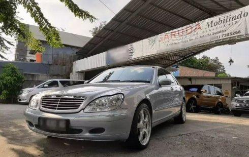 Jual Mobil Bekas Mercedes-Benz S-Class S 280 2001 di DKI Jakarta