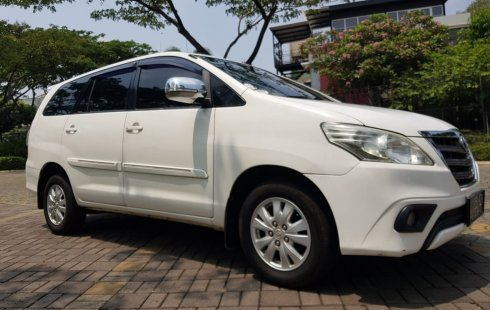 Jual Mobil Toyota Kijang Innova 2.5 G 2014 bekas, DKI Jakarta