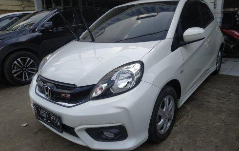 Jual Mobil Bekas Honda Brio Satya E 2016 Terawat di Bekasi