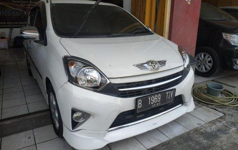 Jual Mobil Bekas Toyota Agya TRD Sportivo 2015 Terawat di Bekasi