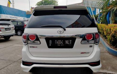 Dijual Mobil Toyota Fortuner G TRD 2015 di Bekasi