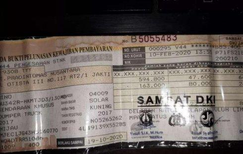Mobil Hino Dutro 2017 dijual, DKI Jakarta