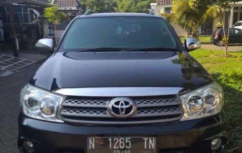 Jual mobil Toyota Fortuner G 2009 bekas, Jawa Timur