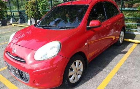 Mobil Nissan March 2011 1.2L XS terbaik di Jawa Barat