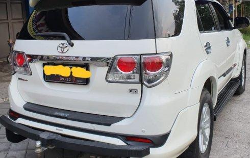 Jual Mobil Bekas Toyota Fortuner G TRD 2012 di DIY Yogyakarta