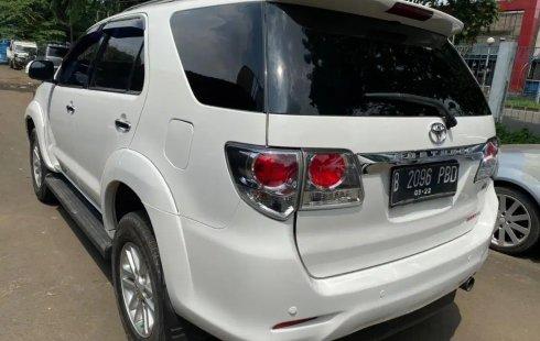 Jual Mobil Bekas Toyota Fortuner G 4x4 VNT 2012 di DKI Jakarta