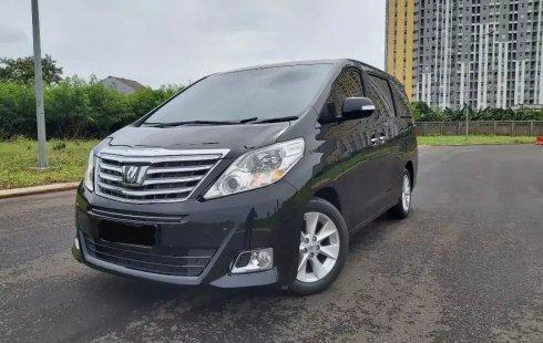 Dijual mobil Toyota Alphard G ATPM AT 2014 di Bekasi