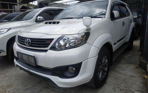 Dijual cepat Toyota Fortuner G VNT Turbo MT 2015 di Bekasi