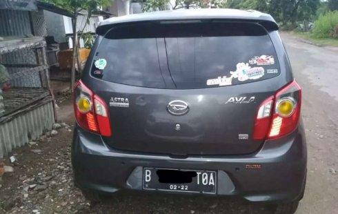 Jual Daihatsu Ayla X 2018 harga murah di Sumatra Barat