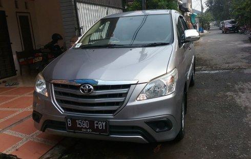 Jual Mobil Bekas Toyota Kijang Innova 2.5 G Diesel 2015 di Bekasi