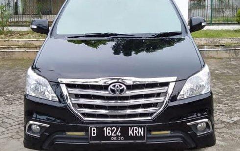 Jual Mobil Bekas Toyota Kijang Innova V Luxury 2015 di Bekasi