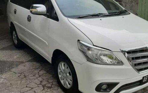 Jual cepat Toyota Kijang Innova 2.0 G 2013 di Jawa Tengah