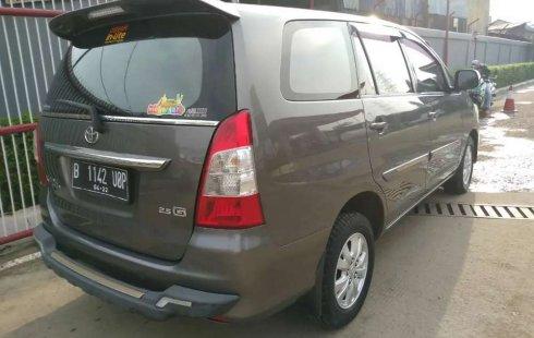 Dijual mobil bekas Toyota Kijang Innova 2.5 G, Banten