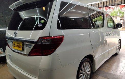 Jual Mobil Bekas Toyota Alphard 2.4 S 2012 di DKI Jakarta
