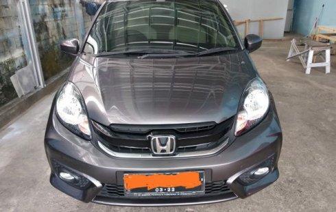 Dijual cepat Honda Brio Satya E 2017 Bekas, Kalimantan Timur