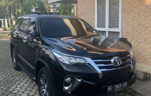 Jual mobil Toyota Fortuner G 2017 bekas, Sumatra Selatan