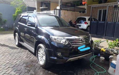 Jual cepat Toyota Fortuner G 2012 di Jawa Timur