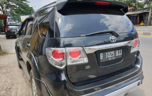 Dijual Cepat Toyota Fortuner G Luxury 2013, Bekasi