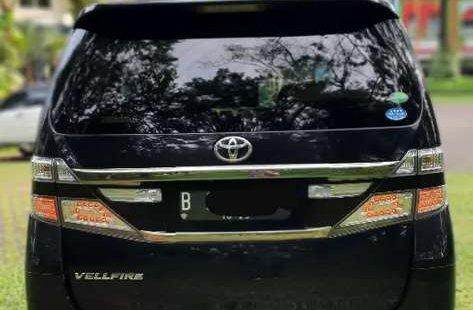Mobil Toyota Vellfire 2013 ZG dijual, DKI Jakarta