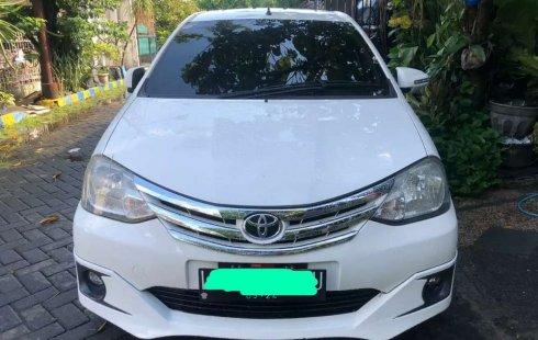 Jawa Timur, Toyota Etios Valco G 2014 kondisi terawat