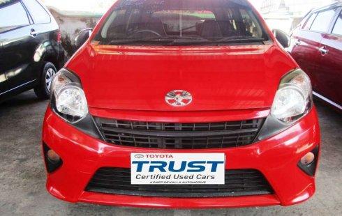 Toyota Agya 2016 Sulawesi Selatan dijual dengan harga termurah