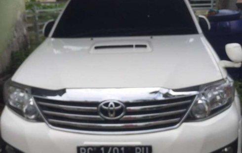 Jual Toyota Fortuner G Luxury 2012 harga murah di Sumatra Selatan