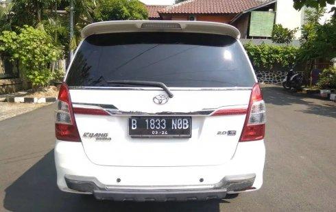 Dijual mobil Toyota Kijang Innova 2.0 G MT 2014 terbaik, DKI Jakarta
