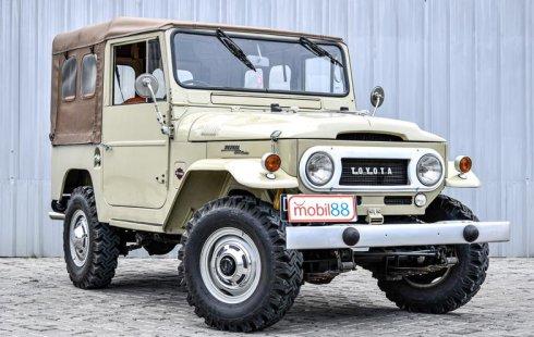 Dijual Mobil Toyota Land Cruiser FJ40 1962 di DKI Jakarta