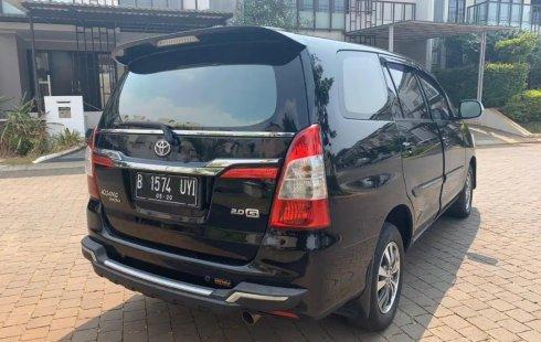 Dijual Mobil Toyota Kijang Innova 2.0 G AT 2015 di DKI Jakarta