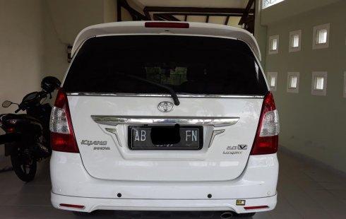 Dijual Cepat Toyota Kijang Innova V Luxury 2013 di DIY Yogyakarta