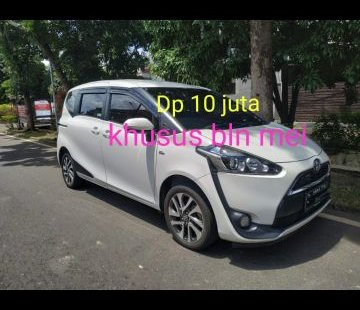 Jual Mobil Toyota Sienta V 2017 di Bekasi