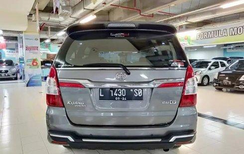 Jual Mobil Bekas Toyota Kijang Innova 2.0 G 2014 di Jawa Timur