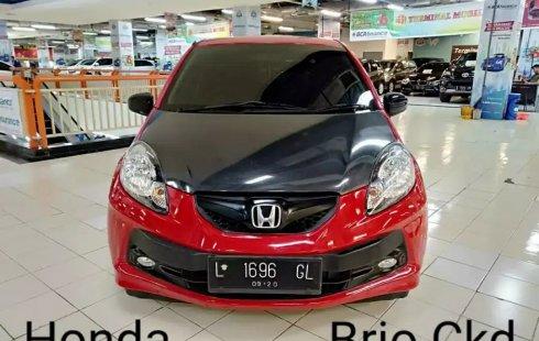 Dijual Mobil Honda Brio E CVT AT 2015 di Jawa Timur