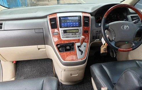 Dijual cepat Toyota Alphard V AT 2005 bekas, DKI Jakarta