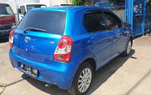 Dijual cepat Toyota Etios Valco E MT 2013 bekas, DKI Jakarta