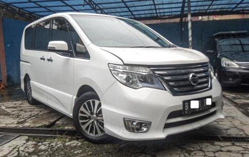 Dijual Mobil Nissan Serena Highway Star 2017 di DKI Jakarta
