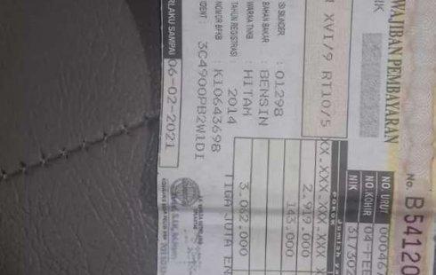 DKI Jakarta, Toyota Avanza G 2014 kondisi terawat