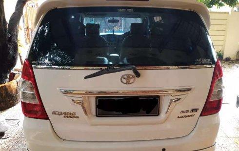 Jual cepat Toyota Kijang Innova G Luxury 2012 di Sumatra Selatan
