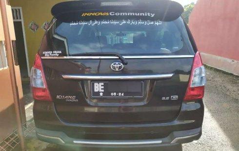 Dijual mobil bekas Toyota Kijang Innova 2.5 G, Lampung