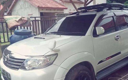 Jual Toyota Fortuner TRD G Luxury 2012 harga murah di Sumatra Selatan