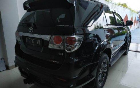 Dijual cepat Toyota Fortuner G TRD 2014, DIY Yogyakarta