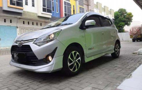 Jual cepat Toyota Agya TRD Sportivo 2019 di Sumatra Utara