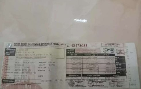 Dijual mobil bekas Toyota Kijang Innova 2.4V, Jawa Timur