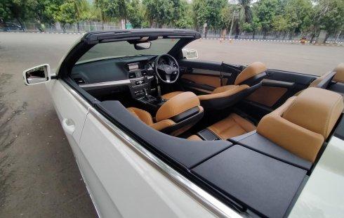 Dijual mobil Mercedes-Benz E-Class E250 2011 Convertible, DKI Jakarta
