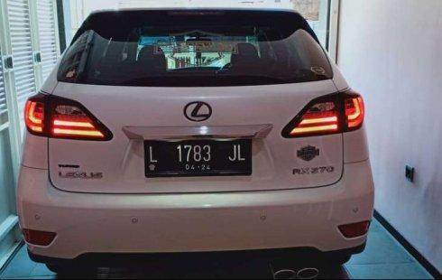 Dijual mobil bekas Lexus RX 270, Jawa Timur