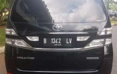 Jual Toyota Vellfire V 2010 harga murah di DKI Jakarta
