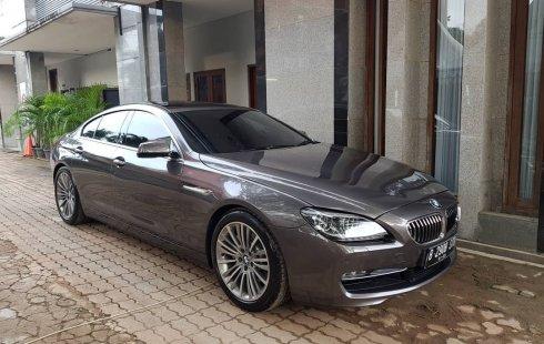 Dijual cepat BMW 6 Series 640i Grancoupe 2013, DKI Jakarta