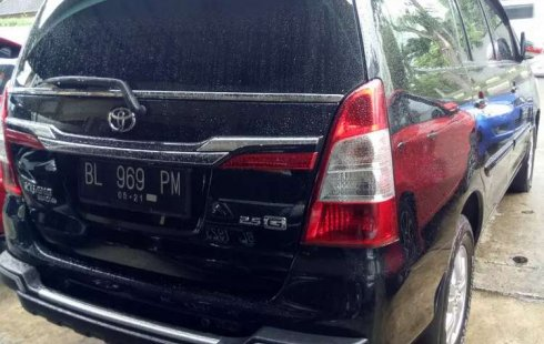 Mobil Toyota Kijang Innova 2014 2.5 G terbaik di Aceh