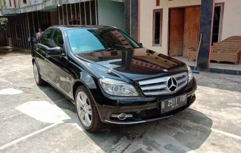 Jual cepat Mercedes-Benz C-Class C200 2010 di Banten